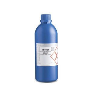 Solution d etalonnage pH 4 010  bouteille 500 ml  certificat